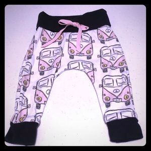 Darling Volkswagen Print Pants for a Tiny Baby! ☺️